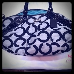 Coach Handbag - near mint condition with dustbag